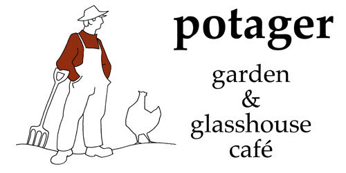 Garden Visit: The Potager Garden and Glasshousecafe